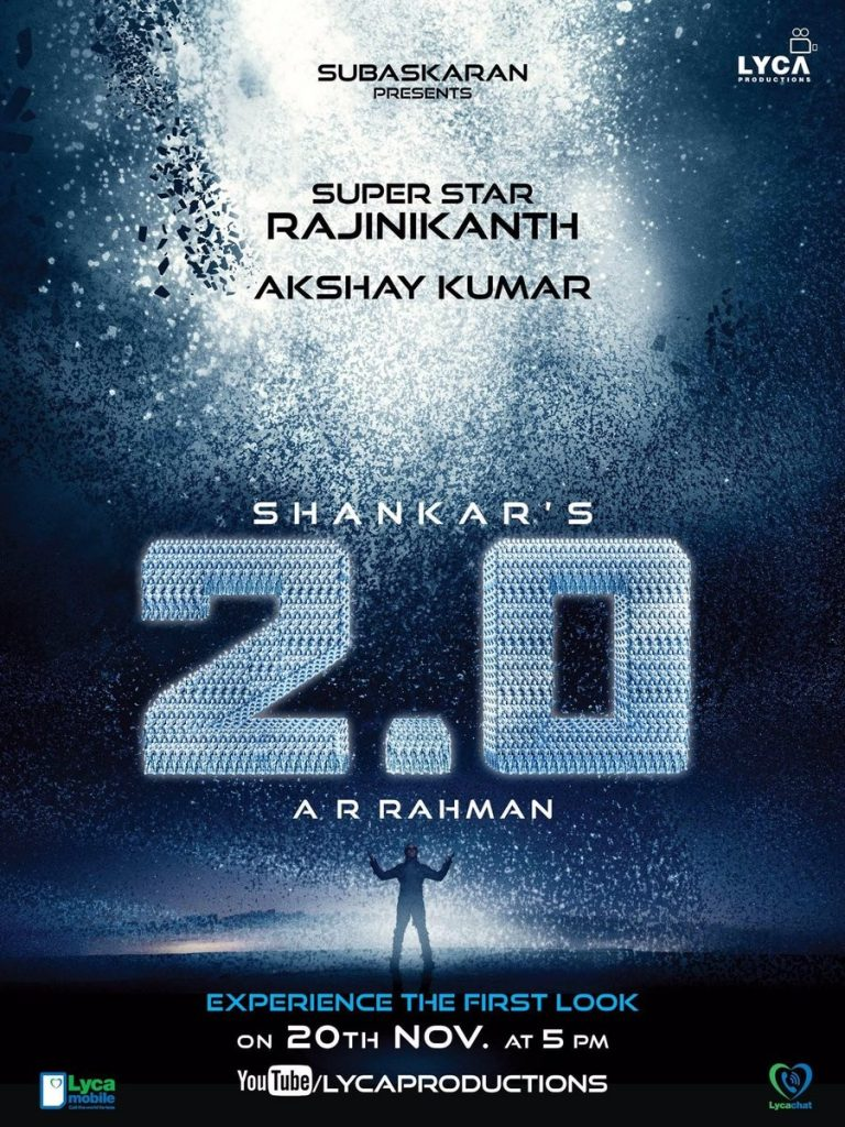 Rajnikanth's 2.0 poster out for fans