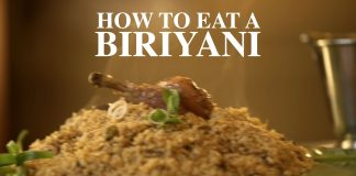 How To Eat A Biriyani