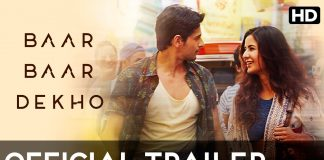 Baar Baar Dekho Trailer Review
