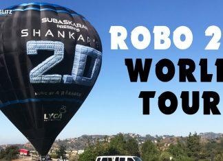 Robo 2.0 Movie World Tour Promotions