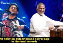 AR Rahman outperformed Ilaiyaraaja in National Awards