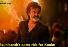 Rajinikanth's extra risk for Kaala!