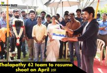 Thalapathy 62 team to resume shoot on April 25!